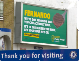 Paddy Power's Torres-Baiting Continues...