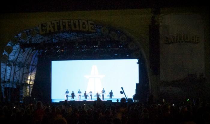 kraftwerk latitude festival 2013
