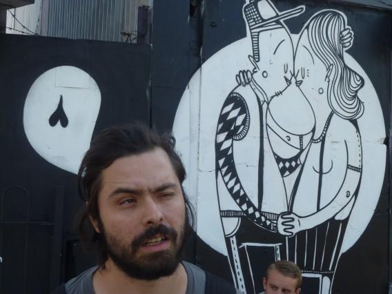 alex senna street art old street london