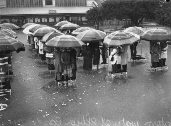 Rain brollies