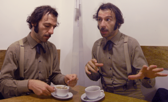 Daedelus - on mating rituals, morse code and piers...
