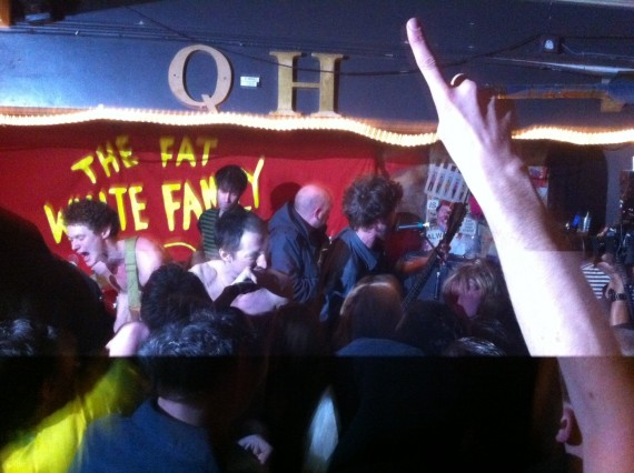 Fat White Family queens head slide in