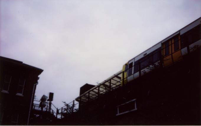 peckham train - Scarlett Pimlott-Brown