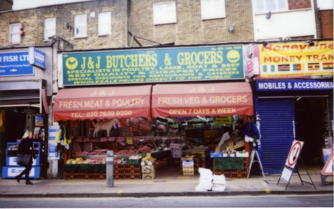 peckham butcher - Scarlett Pimlott-Brown