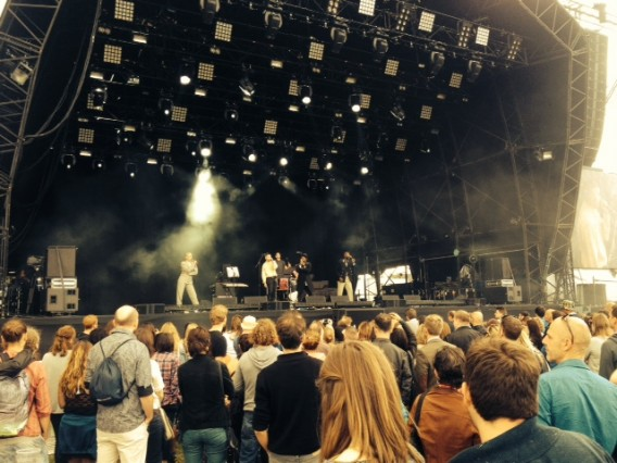 Young Fathers On Blackheath