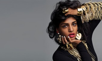 Single-Minded: M.I.A. still has that 'CanSeeCanDo' attitude...