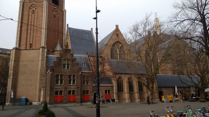 Grote Kerk - so big it won't fit in a photo
