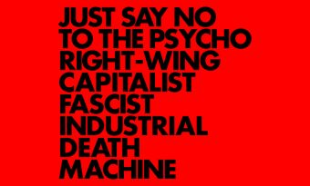 Gnod – Just Say No To The Psycho Right-Wing Capitalist Fascist Industrial Death Machine