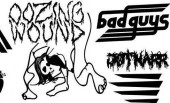 Oozing Wound, Bad Guys, JØTNARR and Ghold @ The Black Heart